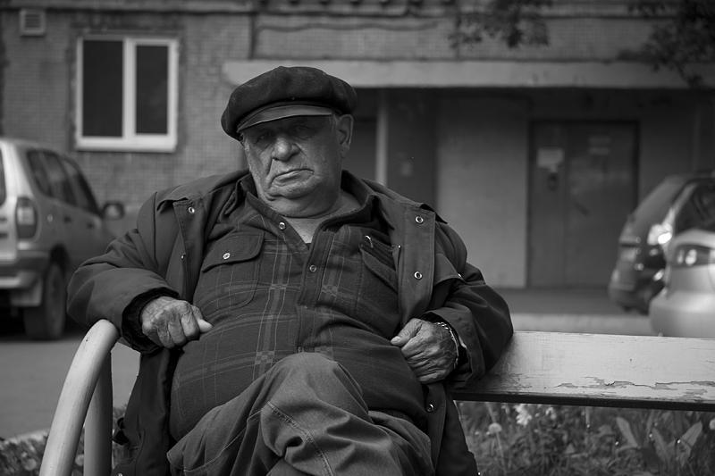 Фотоистория Александра Бендюкова. Новокузнецк. Чб фото (43)