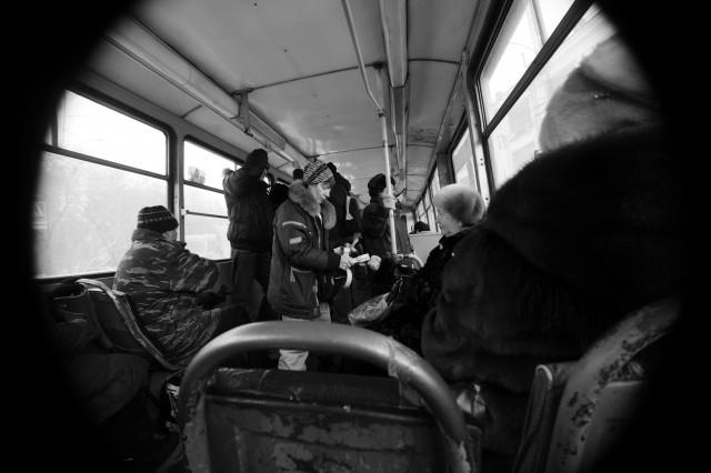 """фотоистория Оксаны Мамлиной """"Трамвайная жизнь"""" (5)"""