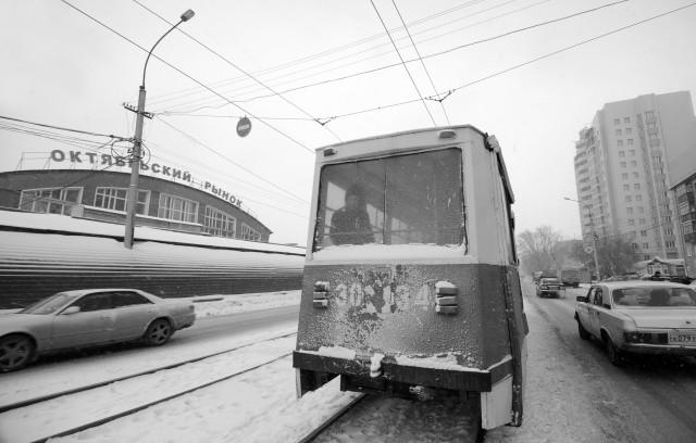 """фотоистория Оксаны Мамлиной """"Трамвайная жизнь"""" (3)"""