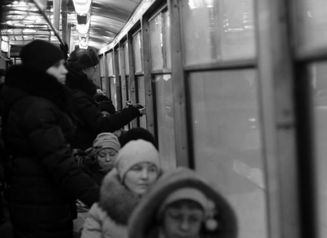 """фотоистория Оксаны Мамлиной """"Трамвайная жизнь"""" (1)"""