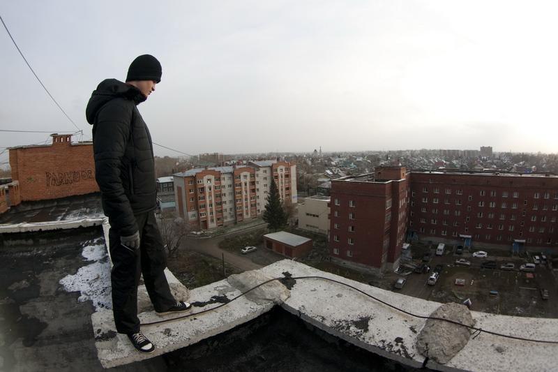 Паркур в Бердске