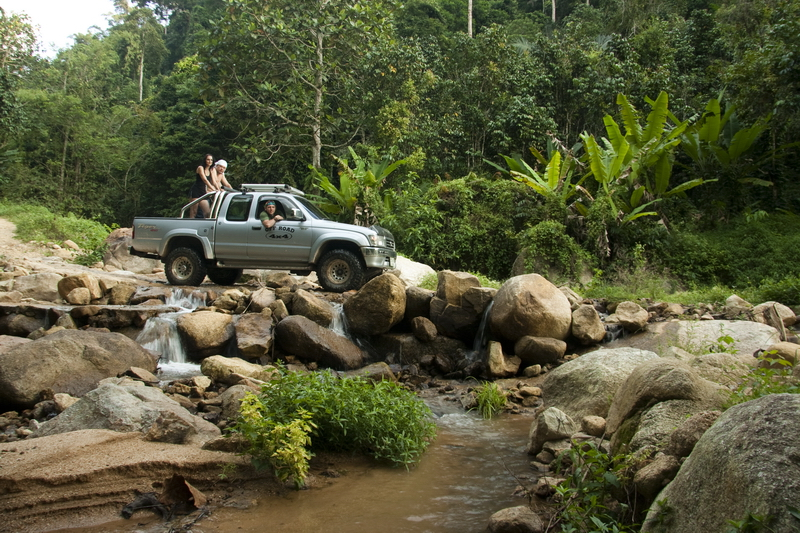 Off road Thailand офроуд в Тайланде