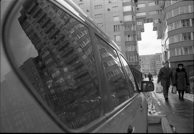 Фотоистория Александра Бендюкова. Новокузнецк. Чб фото (20)