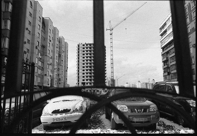 Фотоистория Александра Бендюкова. Новокузнецк. Чб фото (19)
