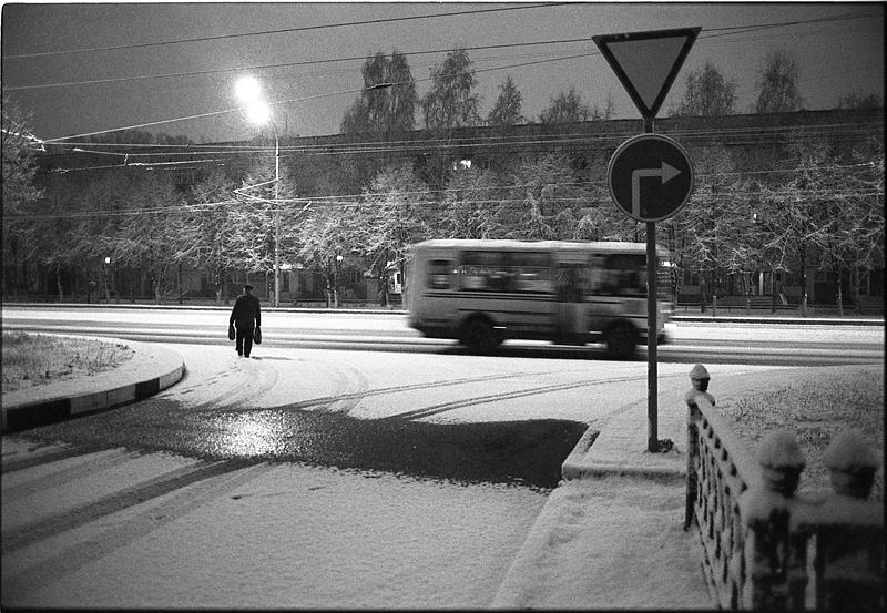 Фотоистория Александра Бендюкова. Новокузнецк. Чб фото (17)