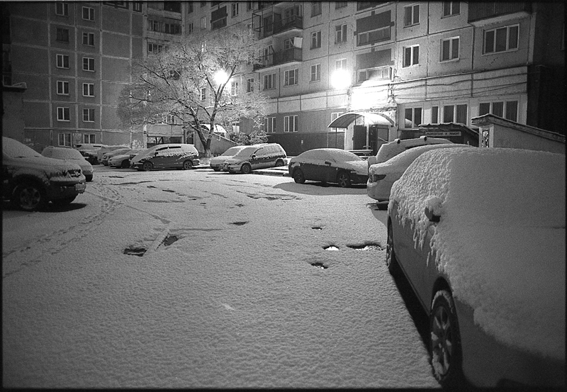 Фотоистория Александра Бендюкова. Новокузнецк. Чб фото (15)