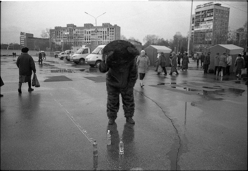 Фотоистория Александра Бендюкова. Новокузнецк. Чб фото (12)