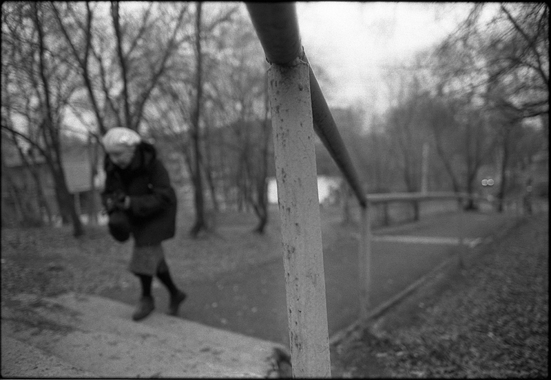 Фотоистория Александра Бендюкова. Новокузнецк. Чб фото (61)