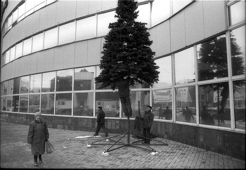 Фотоистория Александра Бендюкова. Новокузнецк. Чб фото (39)