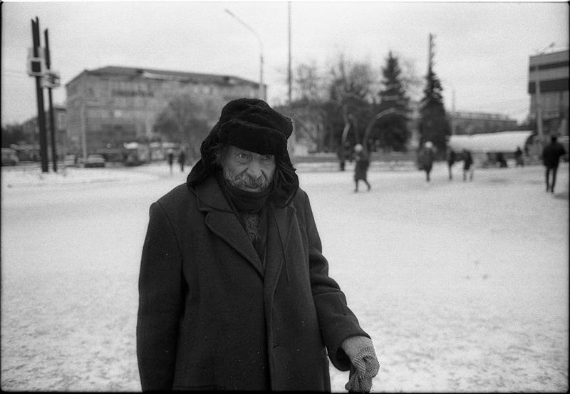 Фотоистория Александра Бендюкова. Новокузнецк. Чб фото (5)