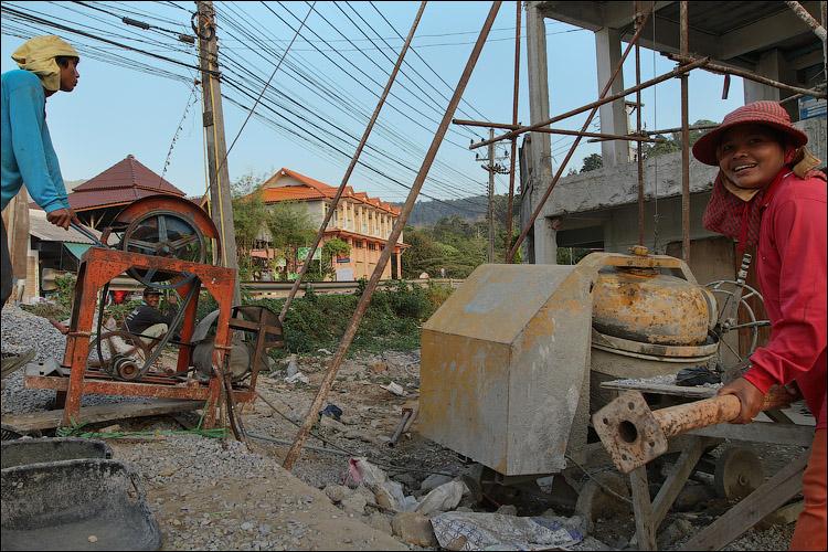 Камбоджийские нелегалы на Ко ЧАнге