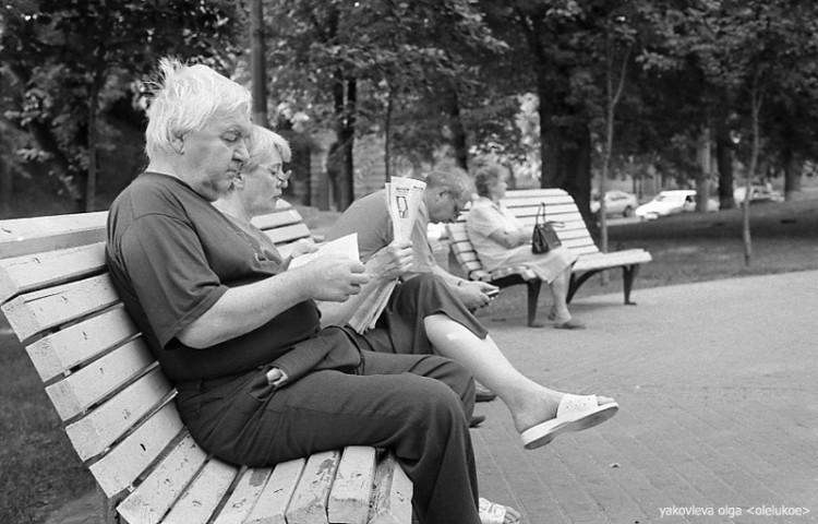 Как читают книги в Киеве