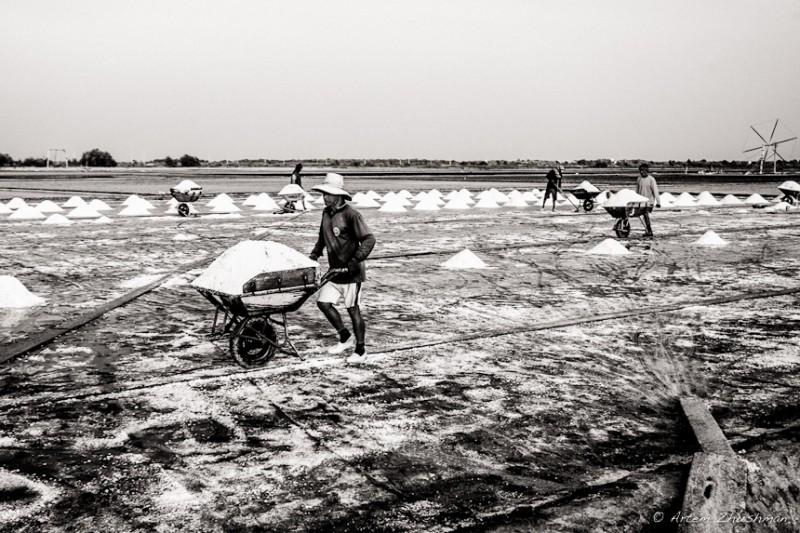 Соляной прииск в провинции Самут Сакон, Центральный Тайланд (25)