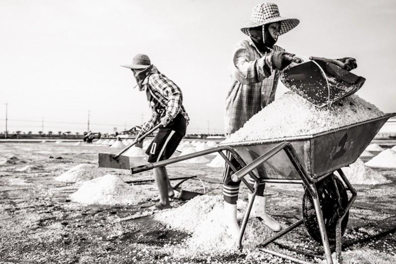 Соляной прииск в провинции Самут Сакон, Центральный Тайланд (24)