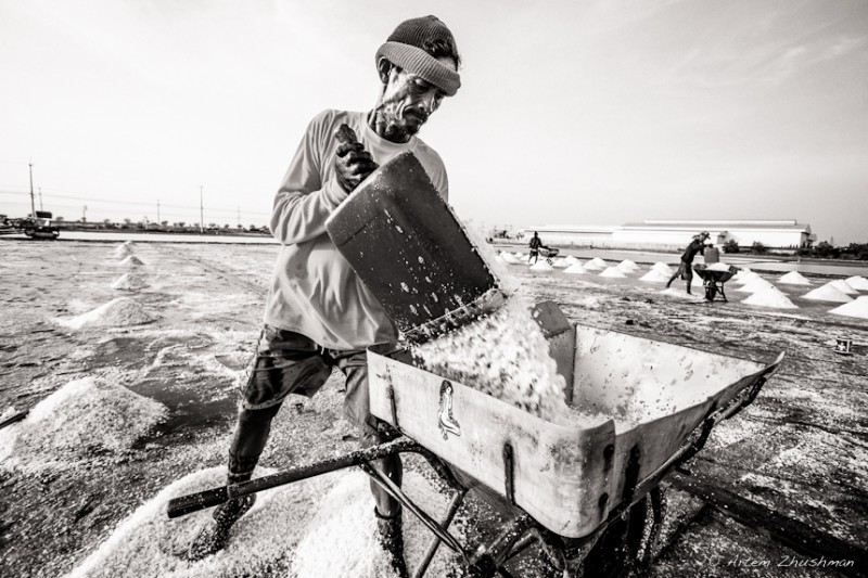 Соляной прииск в провинции Самут Сакон, Центральный Тайланд (22)