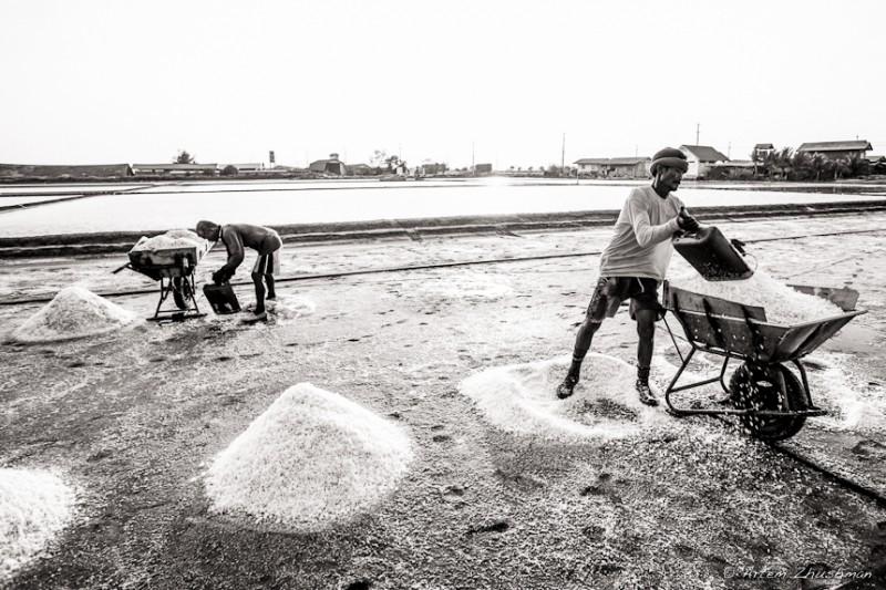 Соляной прииск в провинции Самут Сакон, Центральный Тайланд (21)