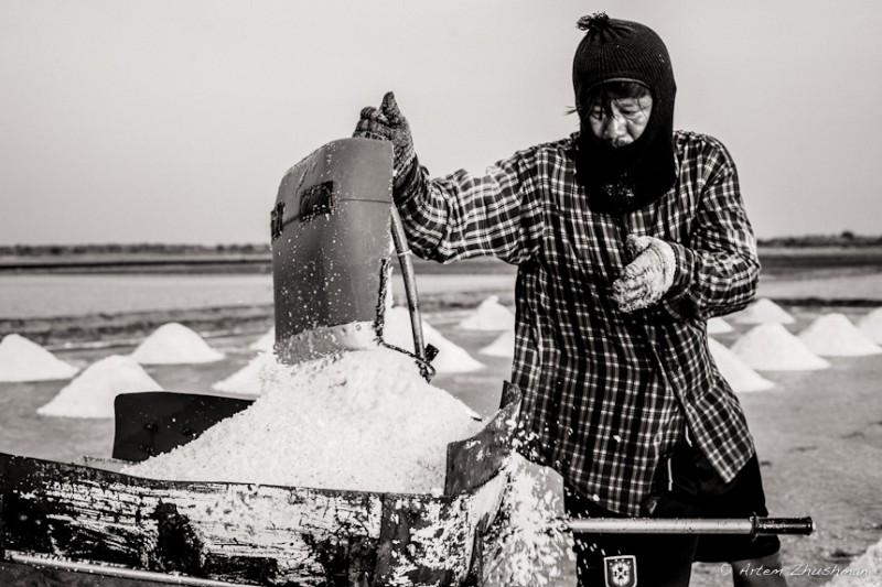 Соляной прииск в провинции Самут Сакон, Центральный Тайланд (18)