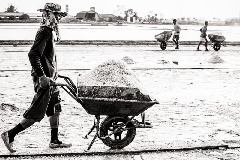 Соляной прииск в провинции Самут Сакон, Центральный Тайланд (17)
