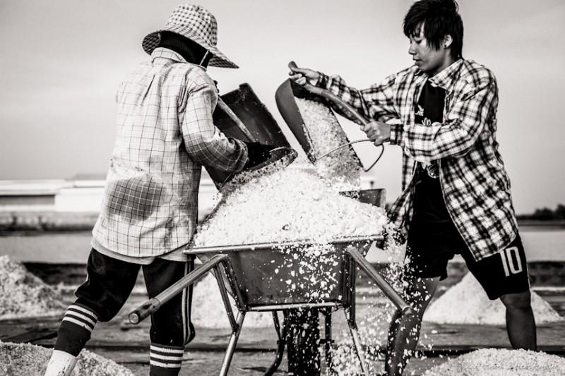 Соляной прииск в провинции Самут Сакон, Центральный Тайланд (12)