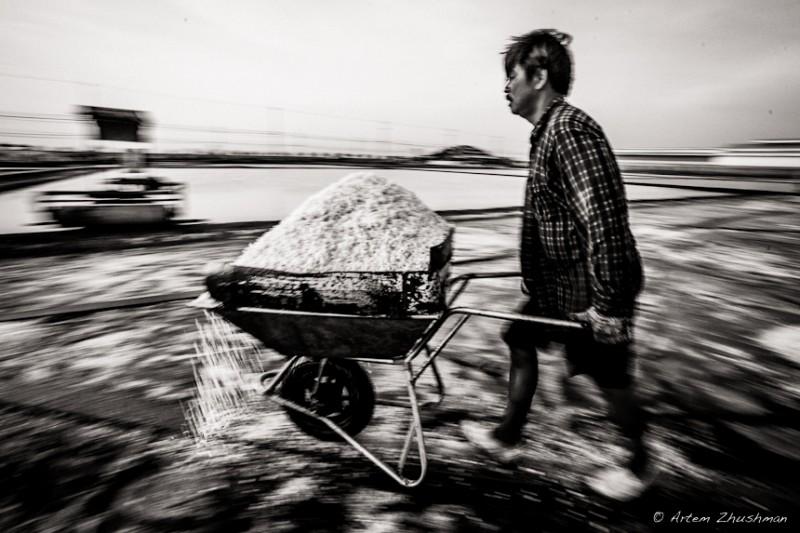 Соляной прииск в провинции Самут Сакон, Центральный Тайланд (11)