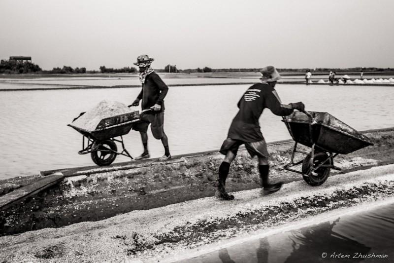 Соляной прииск в провинции Самут Сакон, Центральный Тайланд (10)