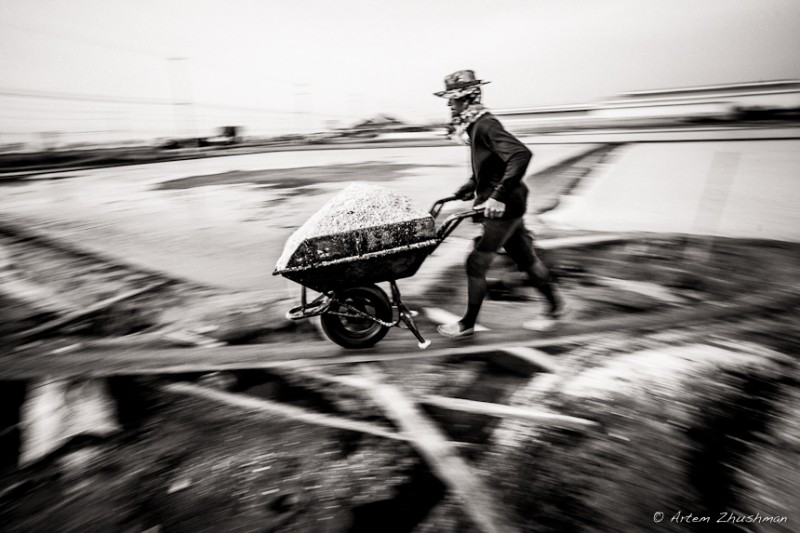 Соляной прииск в провинции Самут Сакон, Центральный Тайланд (9)