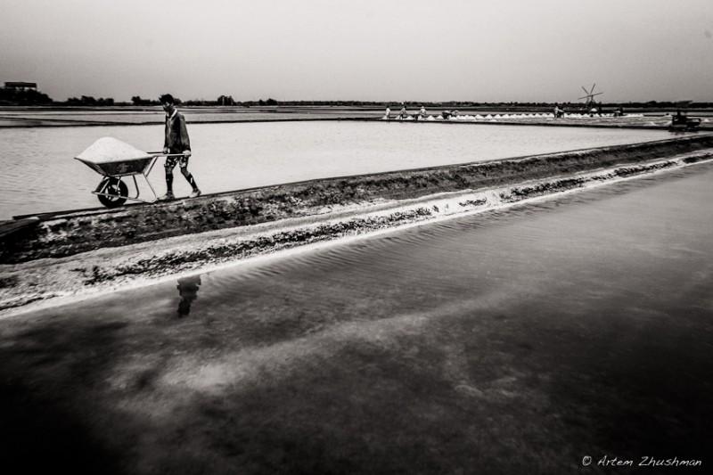 Соляной прииск в провинции Самут Сакон, Центральный Тайланд (8)