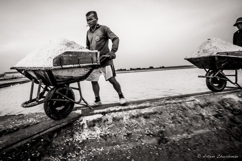 Соляной прииск в провинции Самут Сакон, Центральный Тайланд (7)
