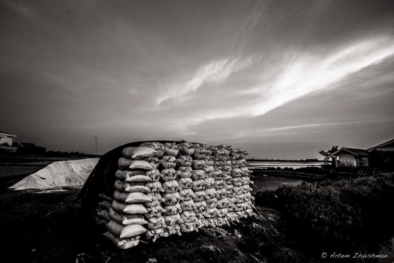 Соляной прииск в провинции Самут Сакон, Центральный Тайланд (4)