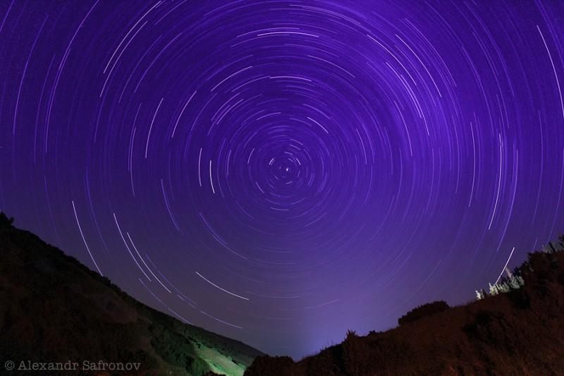 Звёздное небо над Плато Ассы