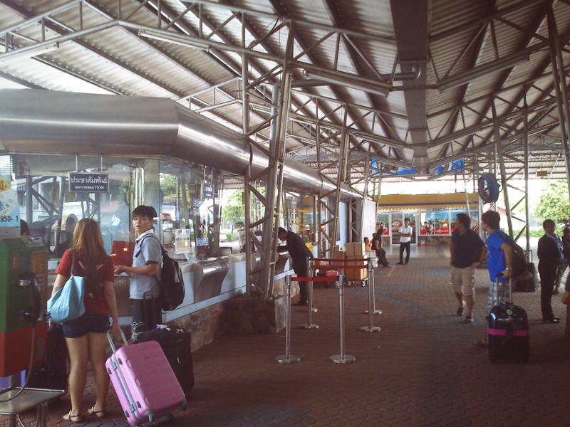 Паттайя. Автобусный терминал в Бангкок, Самуи и тп.