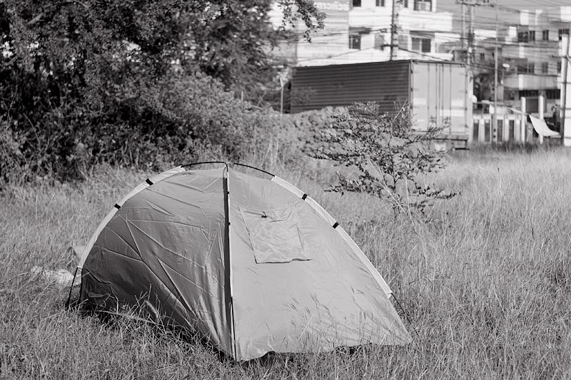 Моя палатка в Таиланде