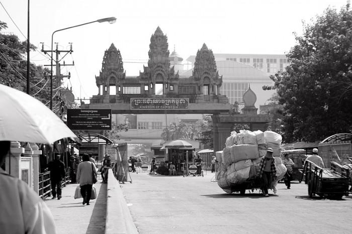 Бордер-ран в Камбоджу
