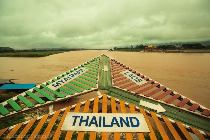 Золотой треугольник: Таиланд, Лаос, Бирма