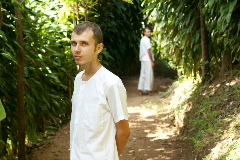 Кирилл, буддийский монах в Таиланде