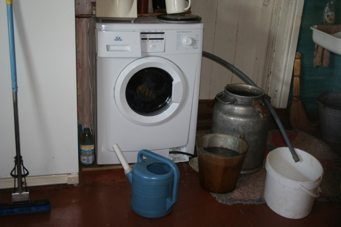 Как подключить стиральную машину без водопровода в доме 86