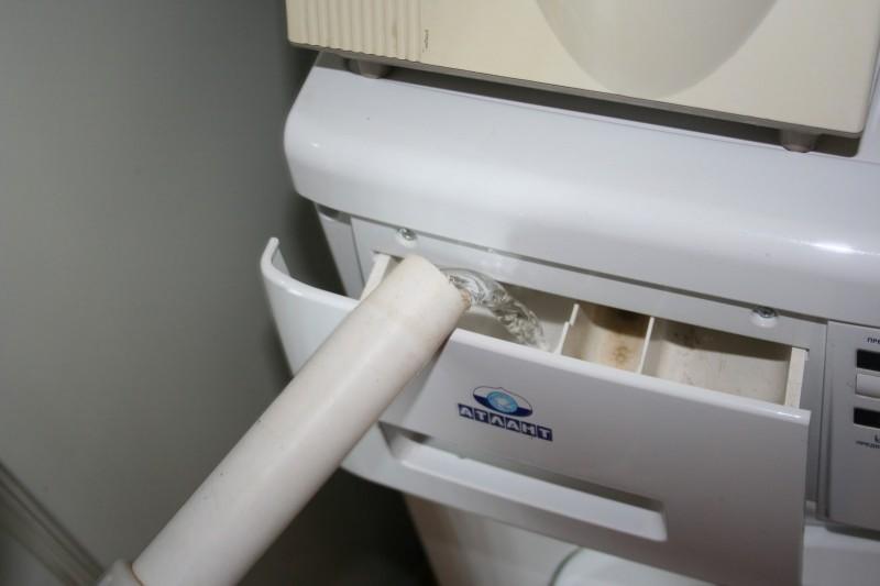 Машинка-автомат как пользоваться без водопровода