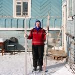 Всю зиму катаюсь на лыжах…