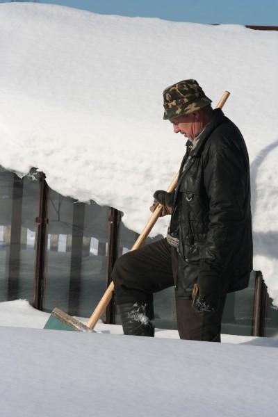 Русская деревня зимой (20)