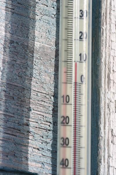 Термометр плюс 10