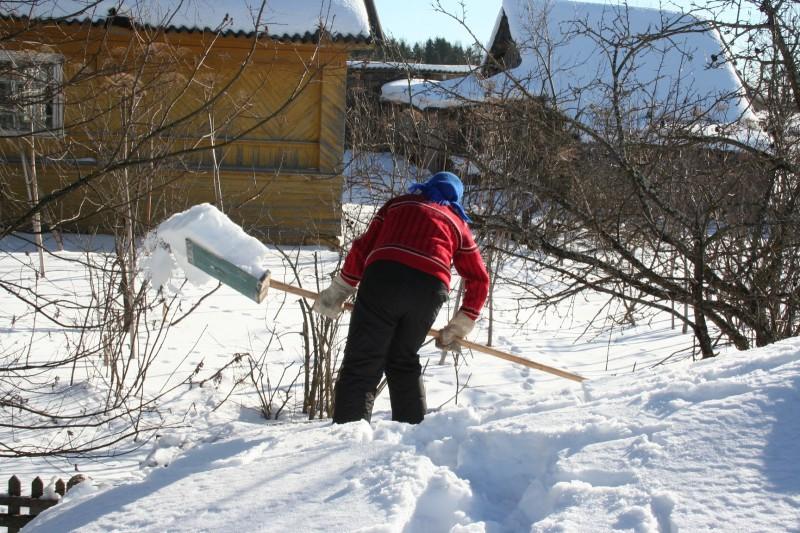 лыжи в деревне (3)