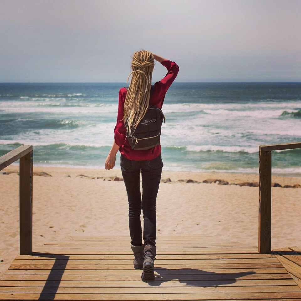 Португалия, журналист и блогер Ольга Салий