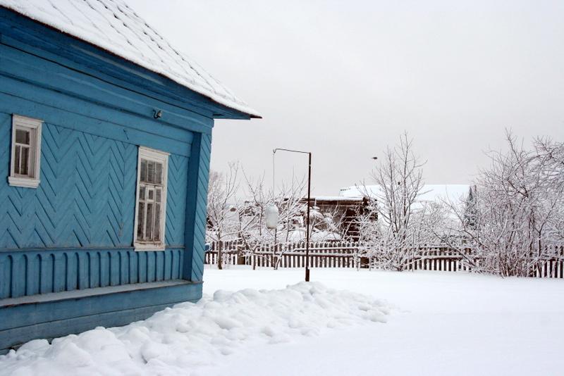 фото деревни зимой (31)