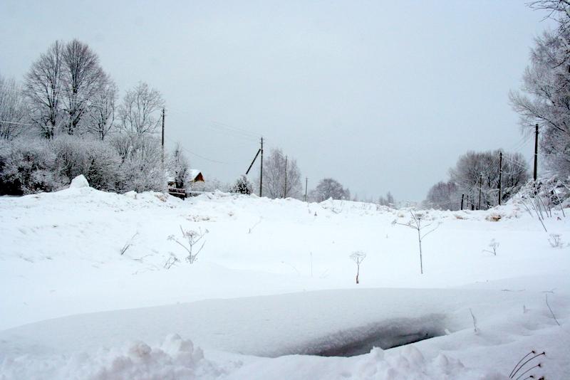 фото деревни зимой (30)