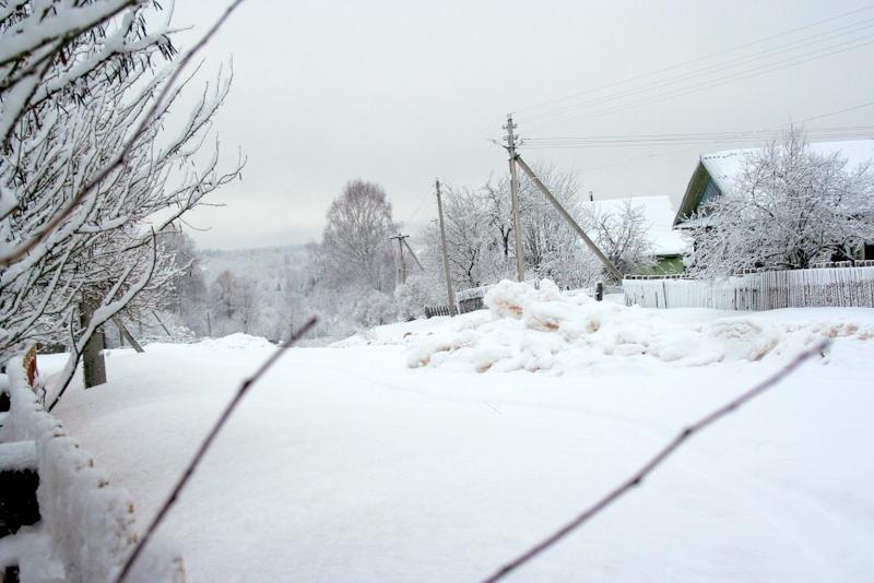 фото деревни зимой (29)