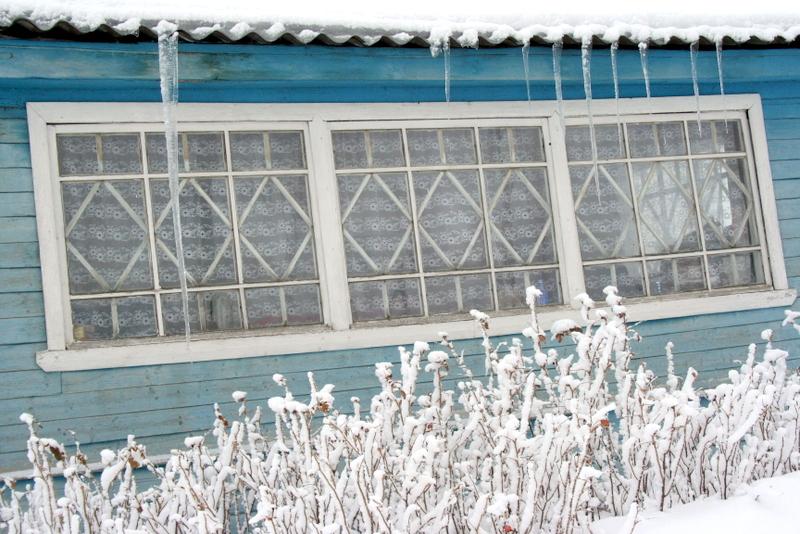 фото деревни зимой (26)