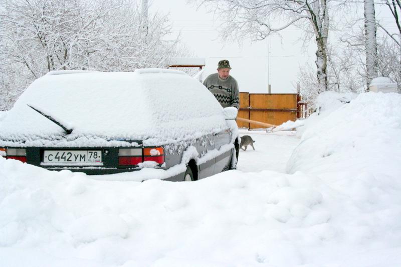 фото деревни зимой (25)