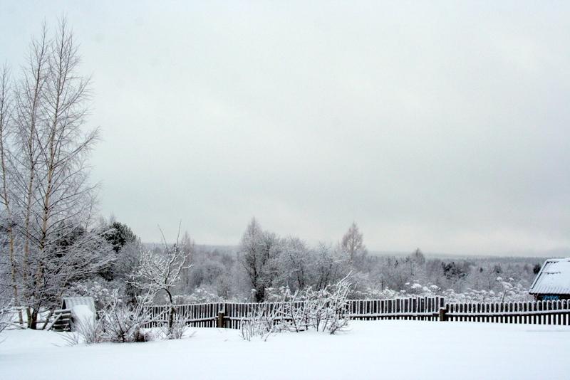фото деревни зимой (24)