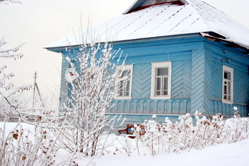 фото деревни зимой (21)