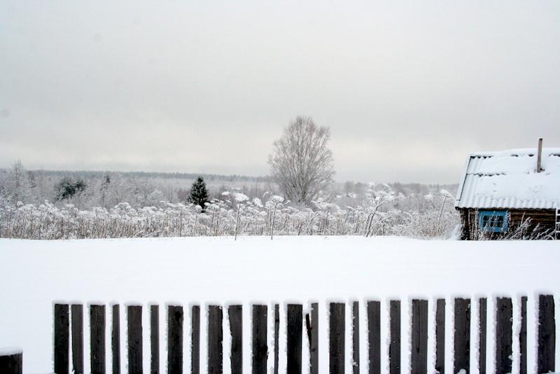 фото деревни зимой (18)